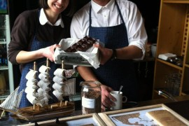 Мария и Венсан от Гайо:Шоколадът е музика!