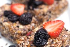 Барчета със сушени плодове