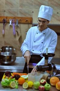 В кухнята на Vita Rama
