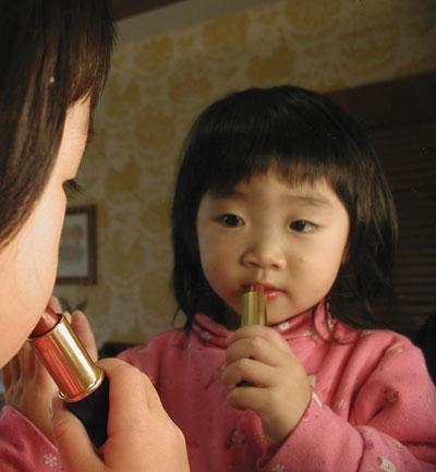 Lead-in-lipstick