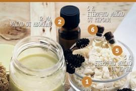 Подхранващо масло за тяло