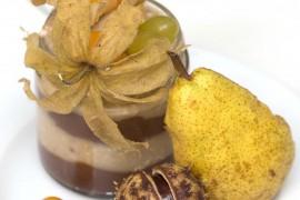 Есенна закуска с кестени и круша/ Autumn breakfast with chestnuts and pear